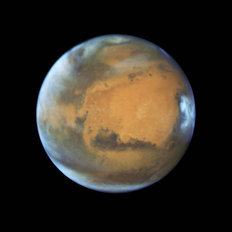 26841154030_9e85af1c86_h Mars will be extra big and bright in the sky this weekend. Take a look for yourself.