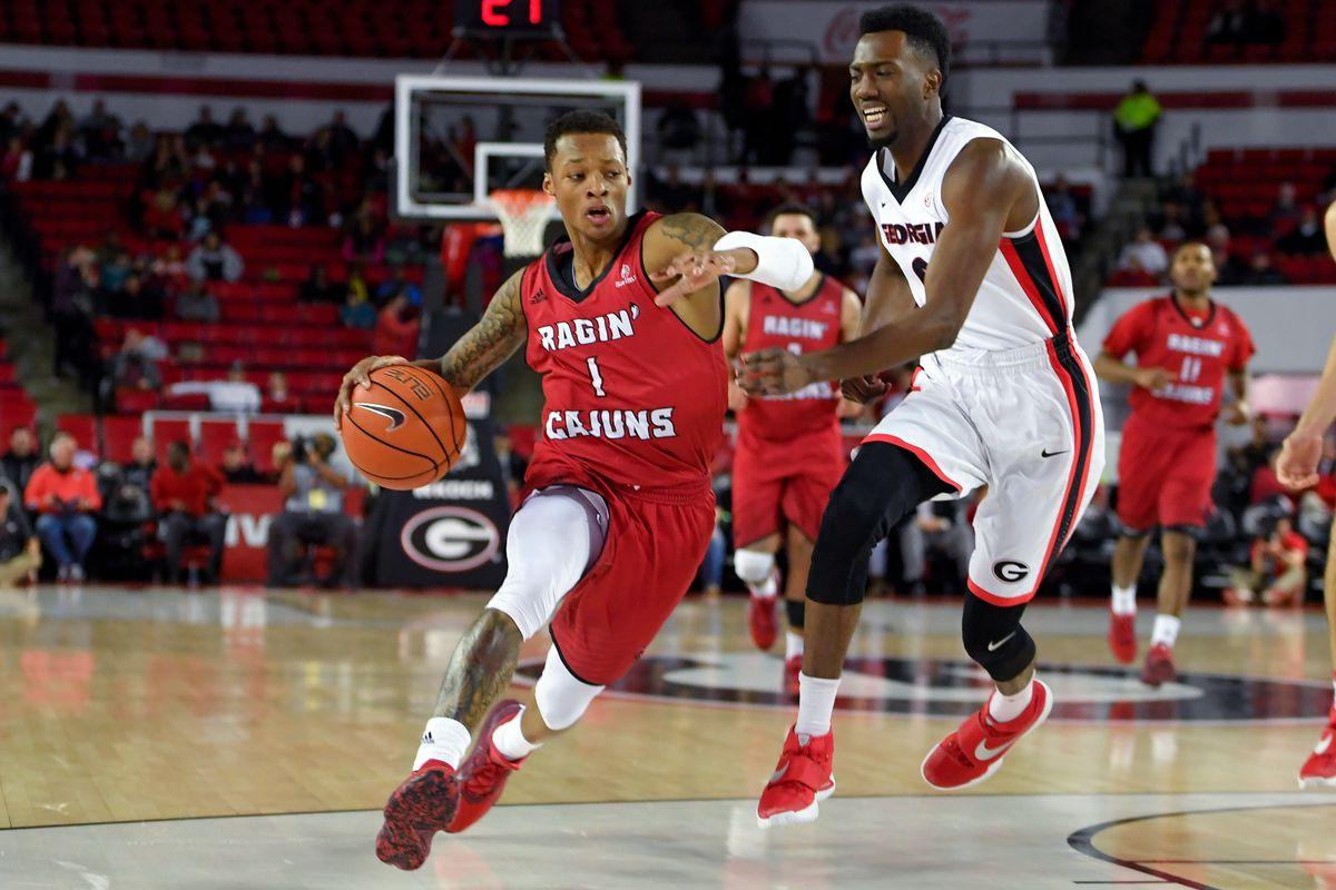 NCAA Basketball: Louisiana-Lafayette at Georgia
