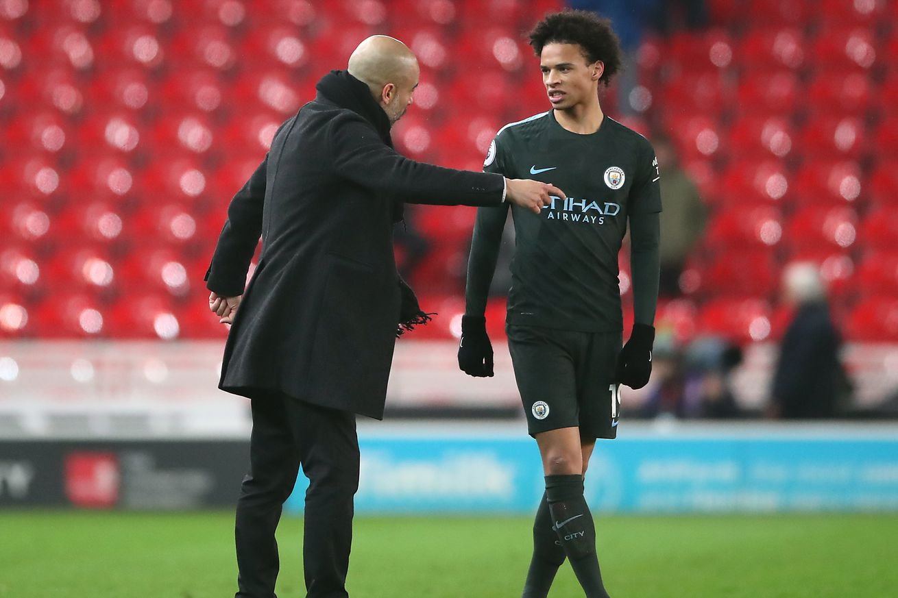 Manchester City?s Pep Guardiola gives update on Leroy Sane