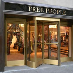 Free People and its Rockefeller Center ilk were all still closed.