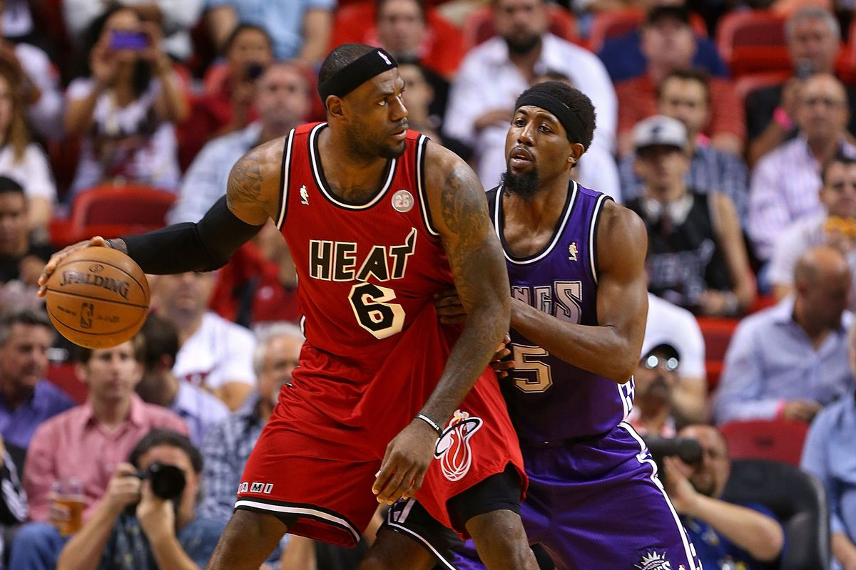 LeBron James had 40 points, 16 assists and eight rebounds vs. Sacramento.