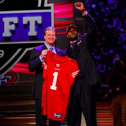 Michael Crabtree at 2009 NFL Draft