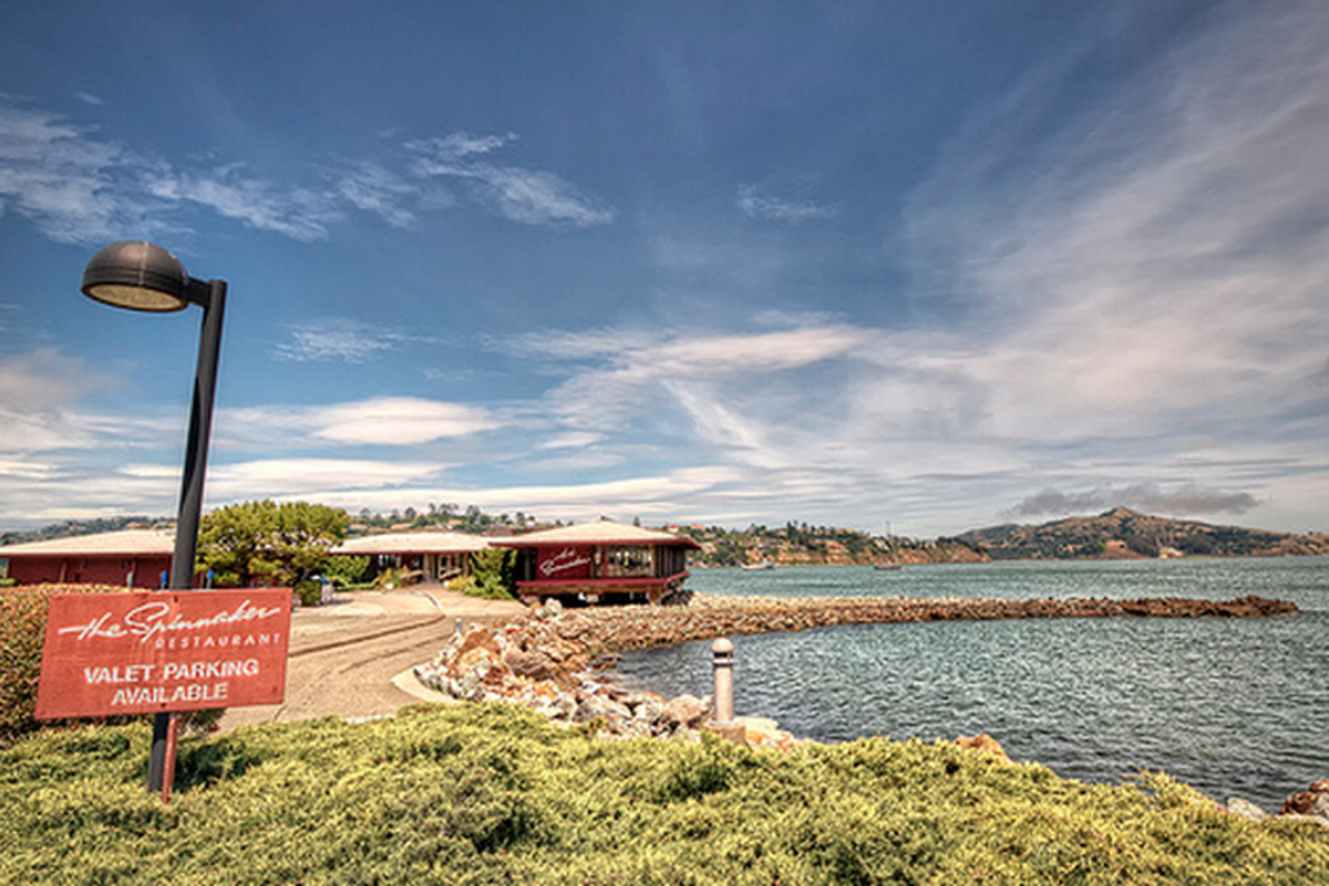 The Spinnaker in Sausalito.