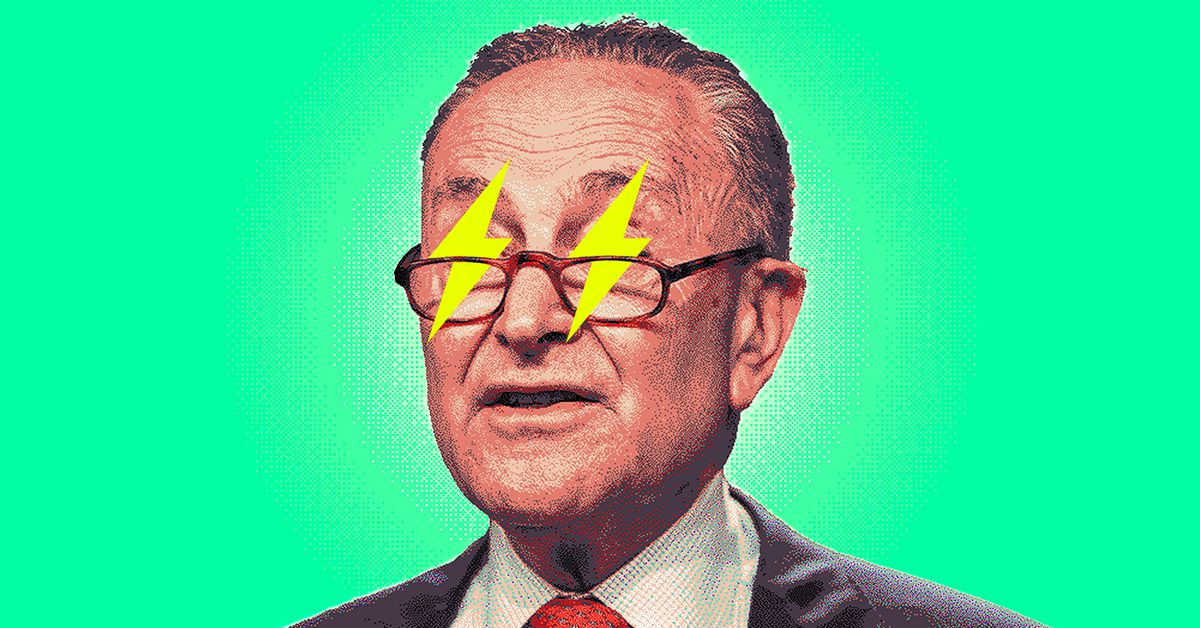 Chuck Schumer wants to replace every gas car in America with an electric vehicle