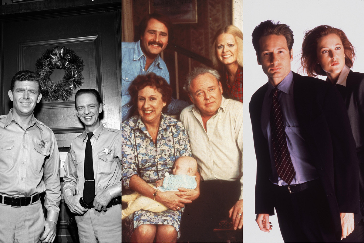 The Andy Griffith Show, All in the Family, The X-Files