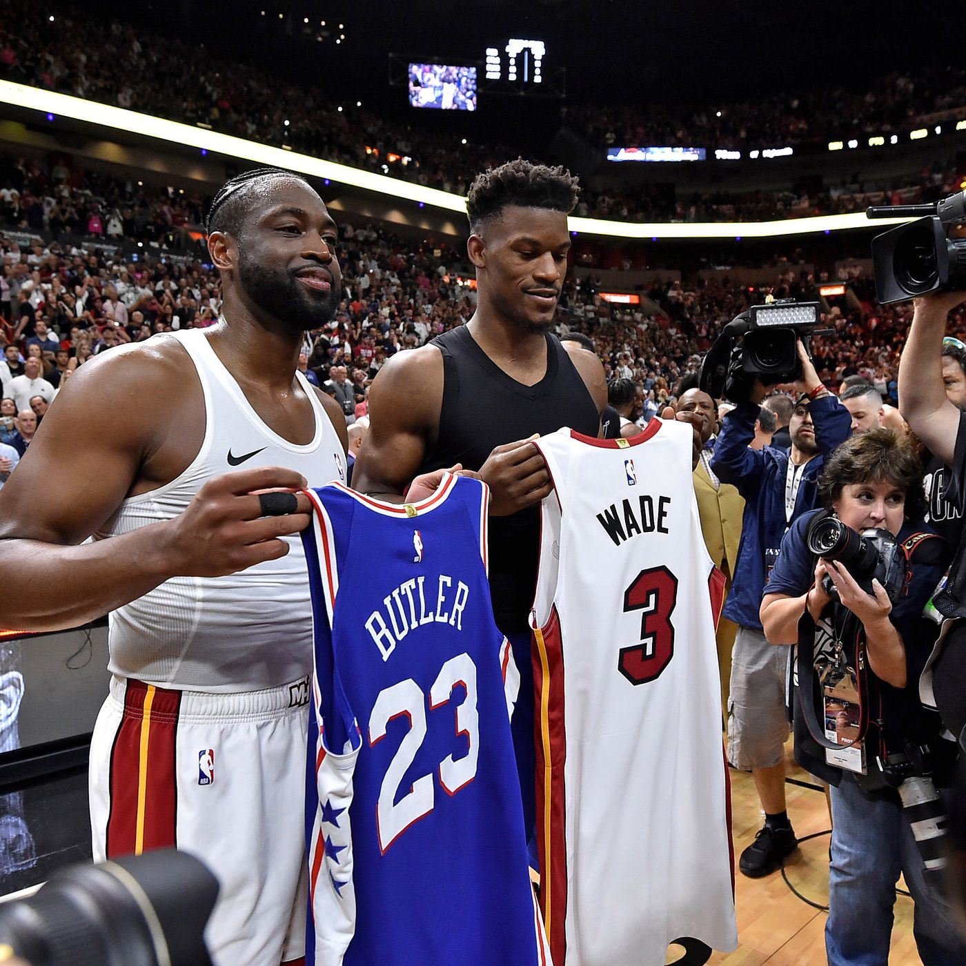 One Proposed Deal For Miami Heat To Land Jimmy Butler Hot Hot Hoops