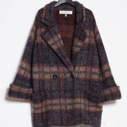 "<a href=""http://www.unitedbamboo.com/store/Plaid-Jacquard-Knit-Coat.html"">Plaid Jacquard Knit Coat</a>, $300 (was $700)"