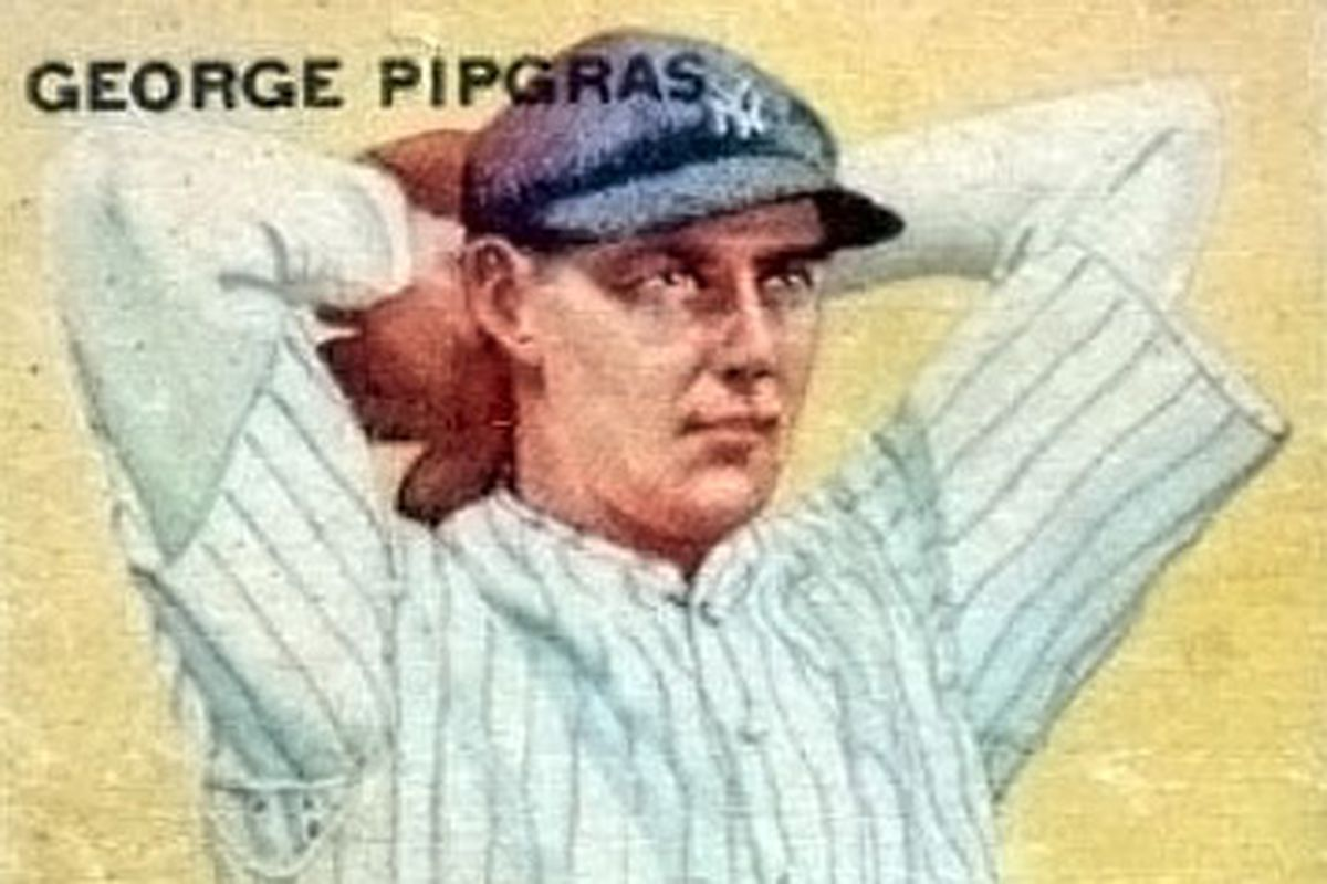 Pinstripe Alley Top 100 Yankees 99 George Pipgras