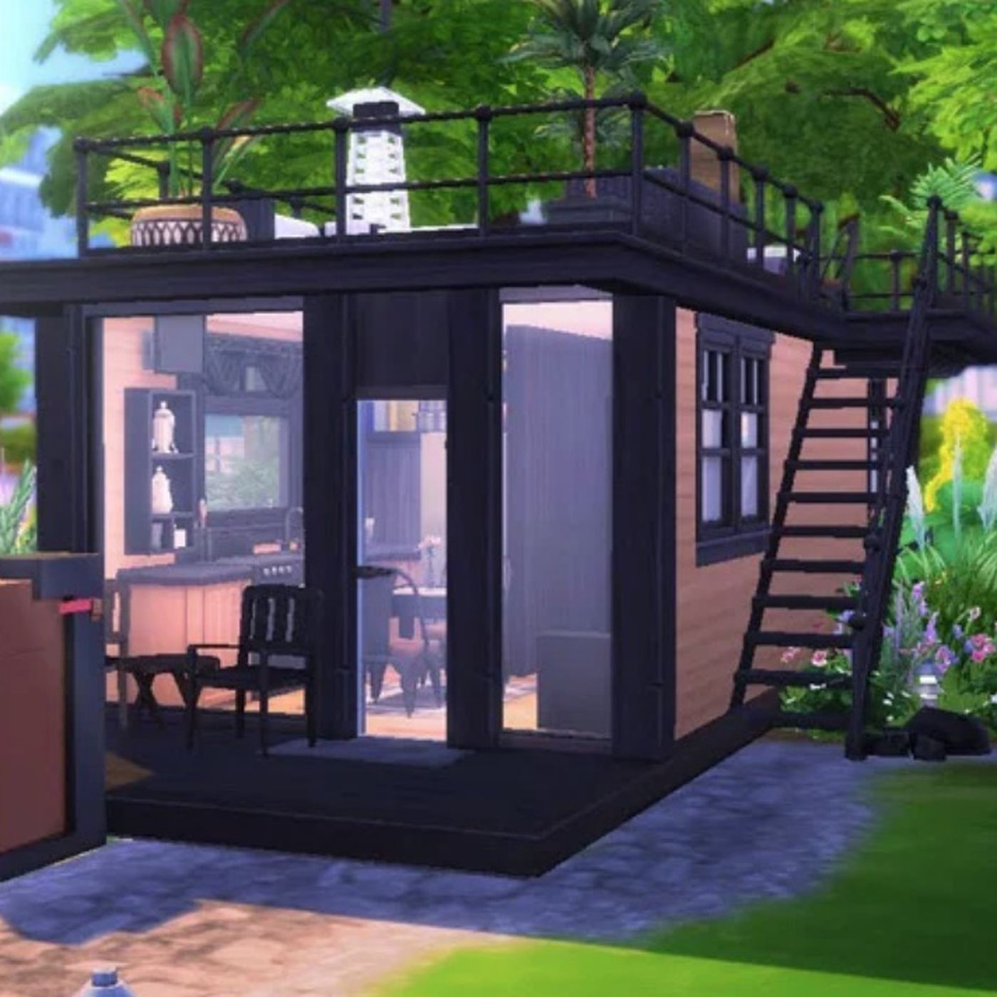In the Sims 25, tiny houses thrive - Curbed