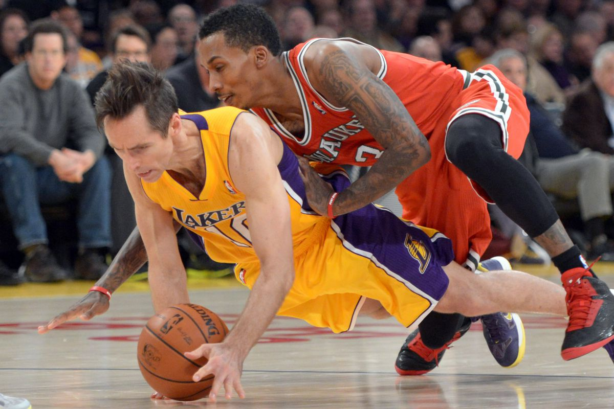 Things that could have contributed to Steve Nash's back issues this season - Brandon Jennings.