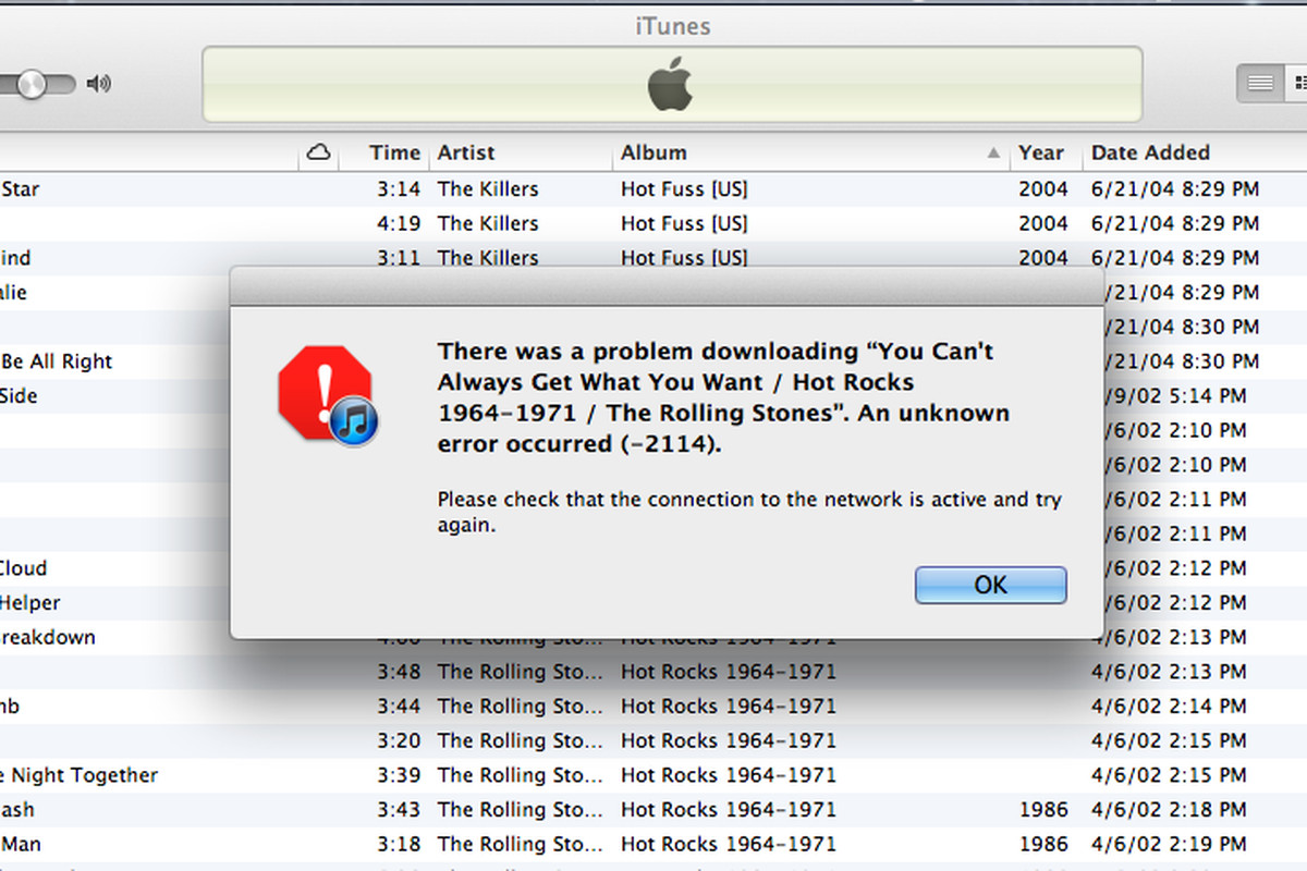 itunes match problem uploaded tracks not streaming or downloading