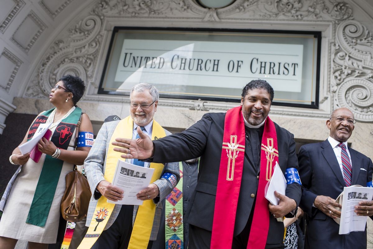 Faith Leaders March To RNC HQ In Cleveland, Call For Higher Moral Ground Agenda