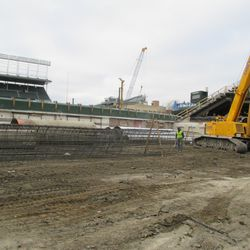 Another view of the right-field bleachers