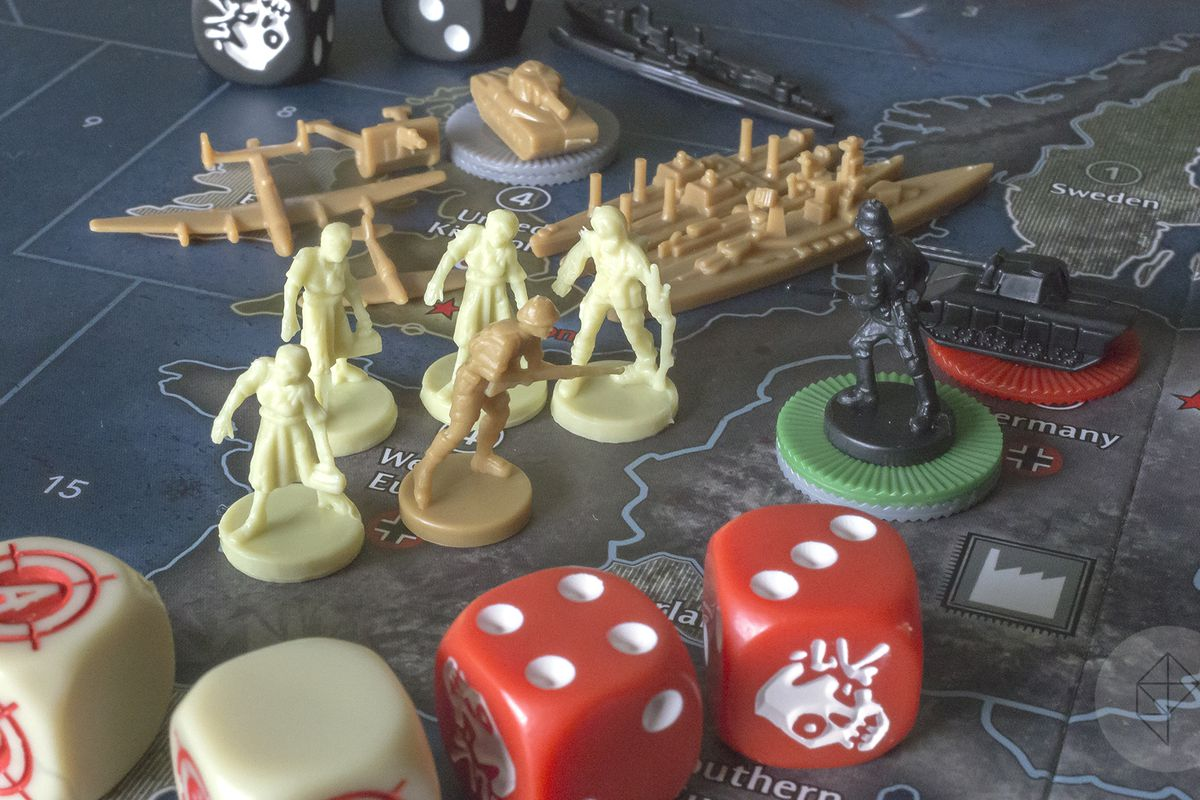 axis and allies  Axis & Allies & Zombies reinvents the classic board game with one ...