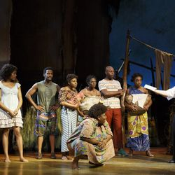 Here is a scene from the Book of Mormon musical.