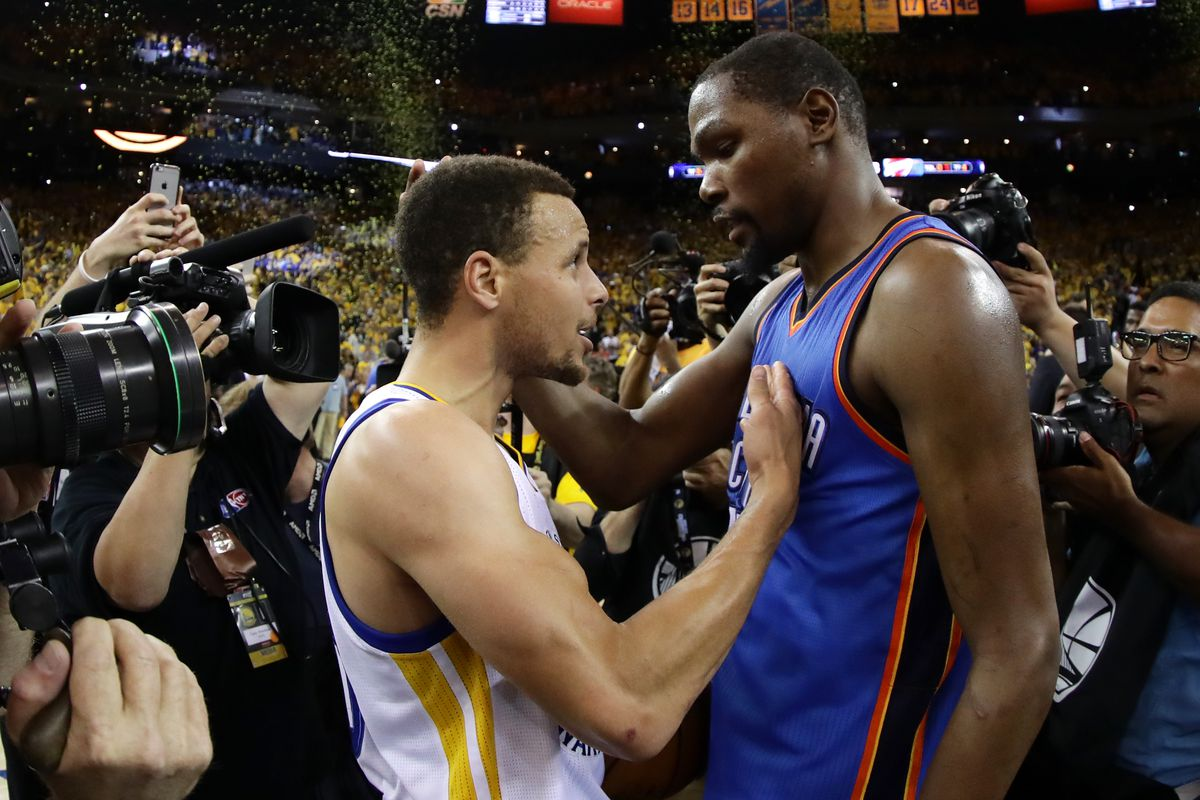 c04f4cff2d1c Kevin Durant will leave the Thunder to join the 73-win Warriors ...
