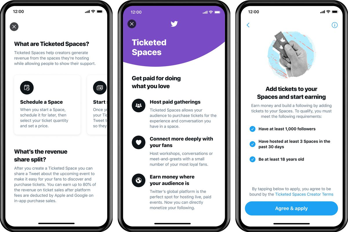 Twitter starts launching Ticketed Spaces for some iOS users   The ...