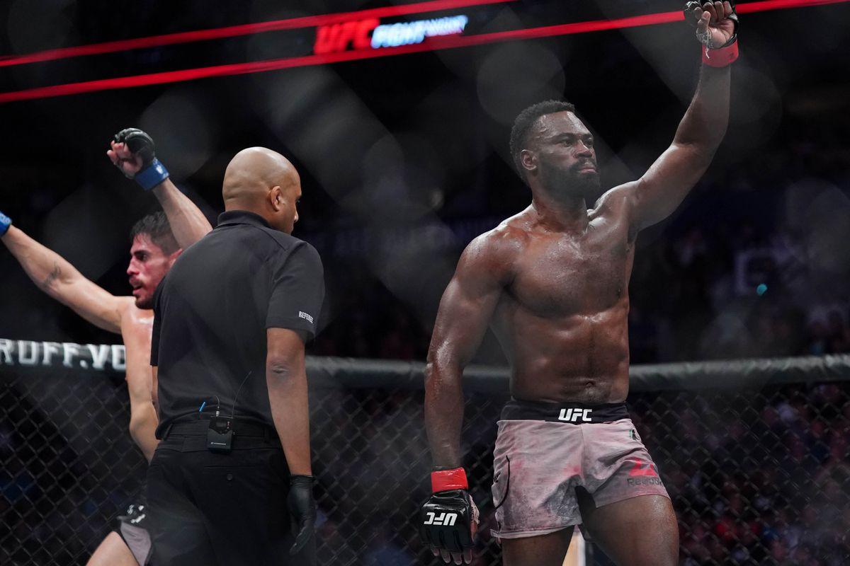 MMA: UFC Fight Night-Vancouver-Hall vs Junior