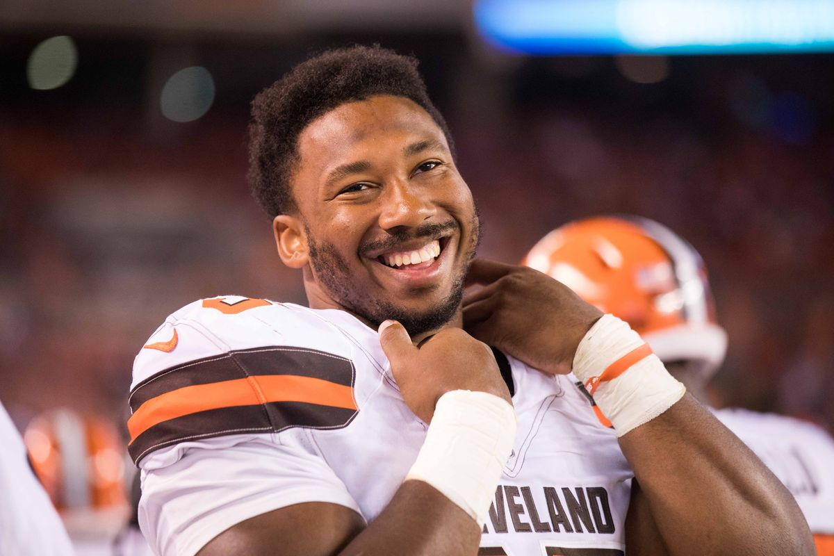 State of AFC North Brandon Williams out again Myles Garrett
