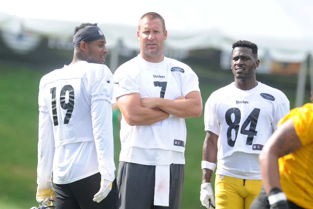 Live practice updates from Steelers 2018 Training Camp  8 1 - Behind ... 444b47b98
