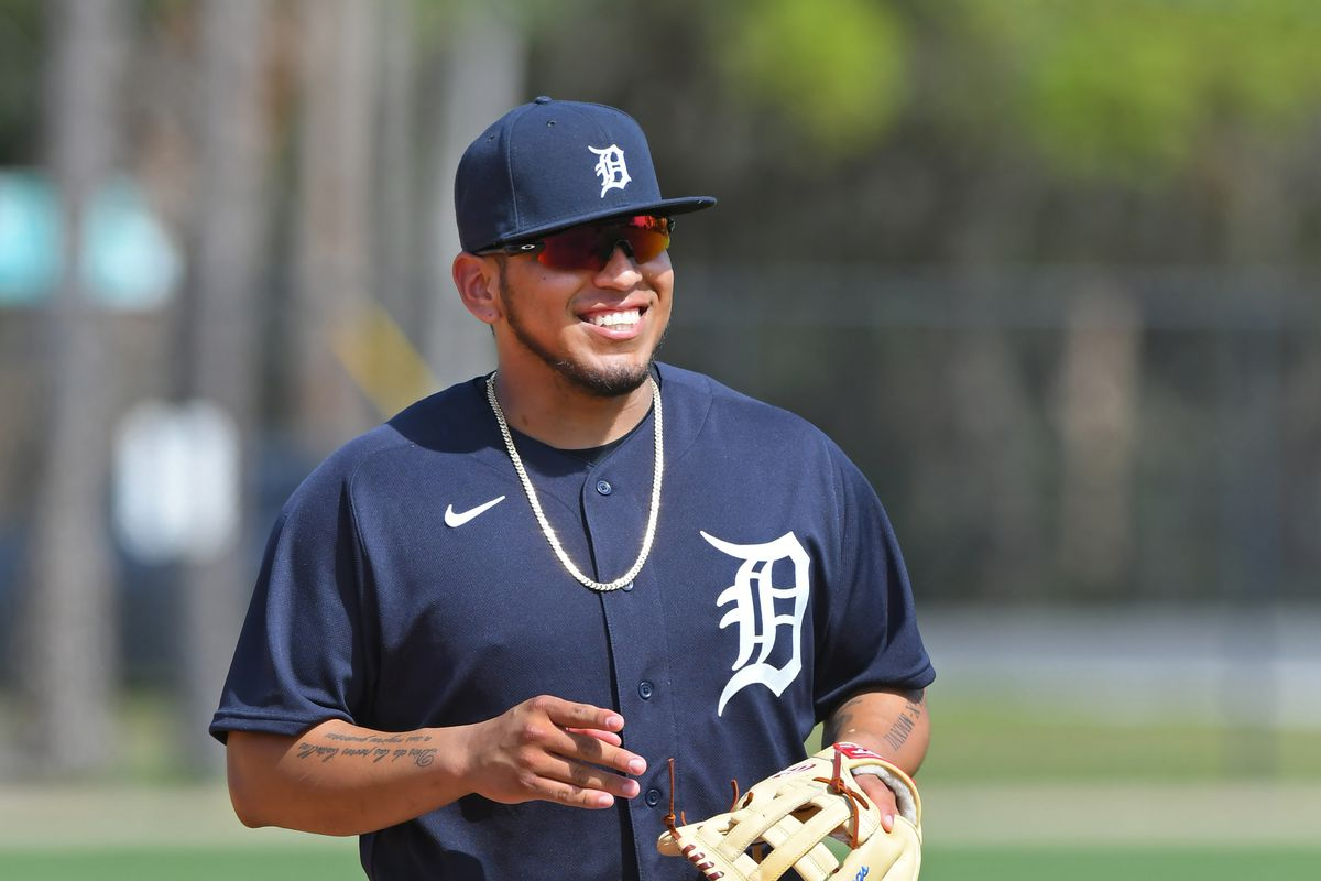 Detroit Tigers Spring Workout