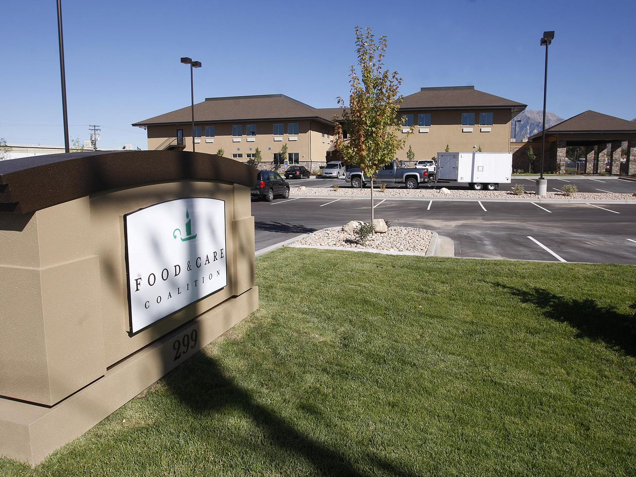 The $11 million dollar Food and Care Coalition building in the East Bay area of Provo will be open soon. Thursday Sept. 24, 2009 Stuart Johnson, Deseret News