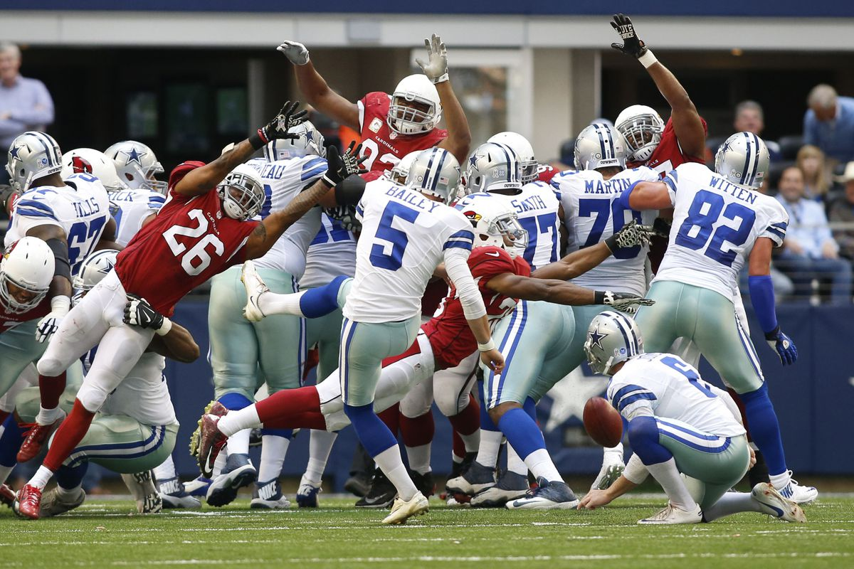 The blocked field goal was emblematic of the day the Cowboys had.