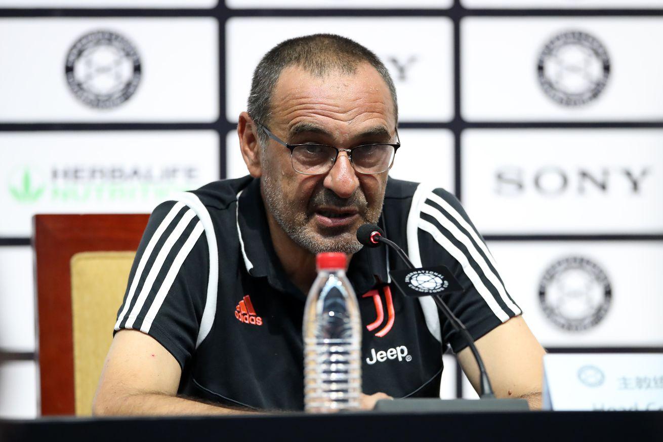 Sarri: Juventus need to get back to enjoying football