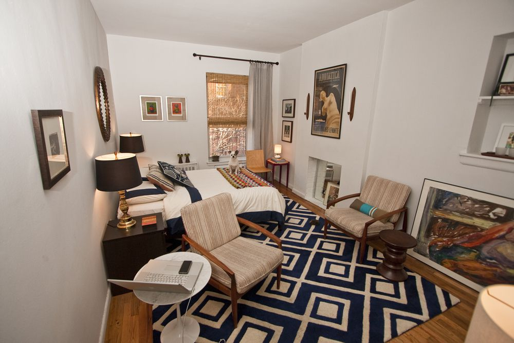 Meanwhile In Chelsea Brian Stanlake Lives A 200 Square Foot Studio Move That Meant Downsizing He D Previously Been Living Ious Duplex With