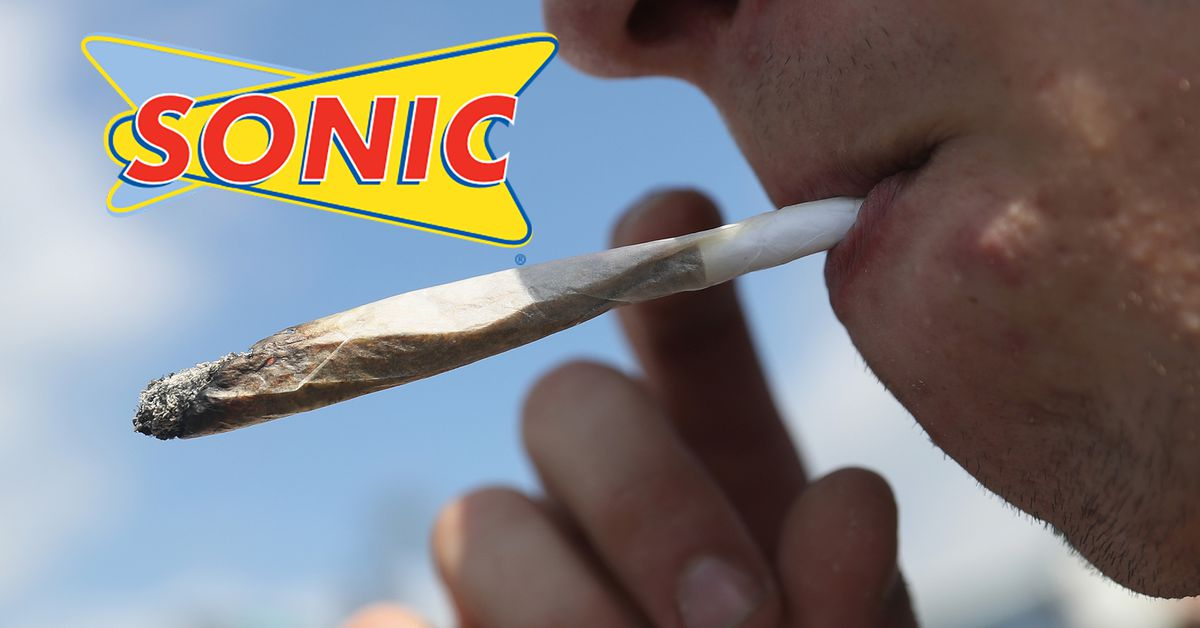 sonic to weed smokers  please don u2019t toke up in the drive