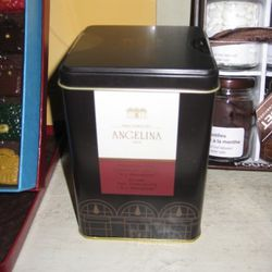 Angelina hot chocolate, $35
