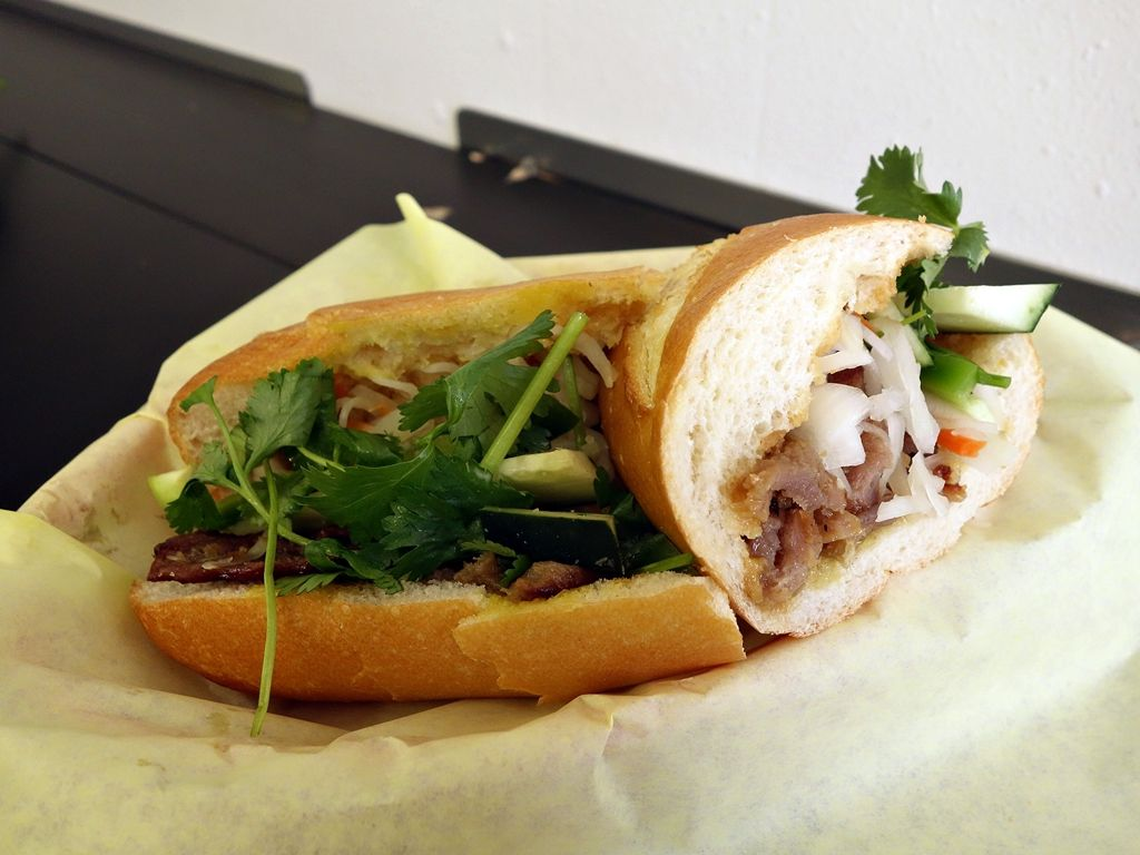 The banh mi at Rise and Shine Bakery in Shoreline.
