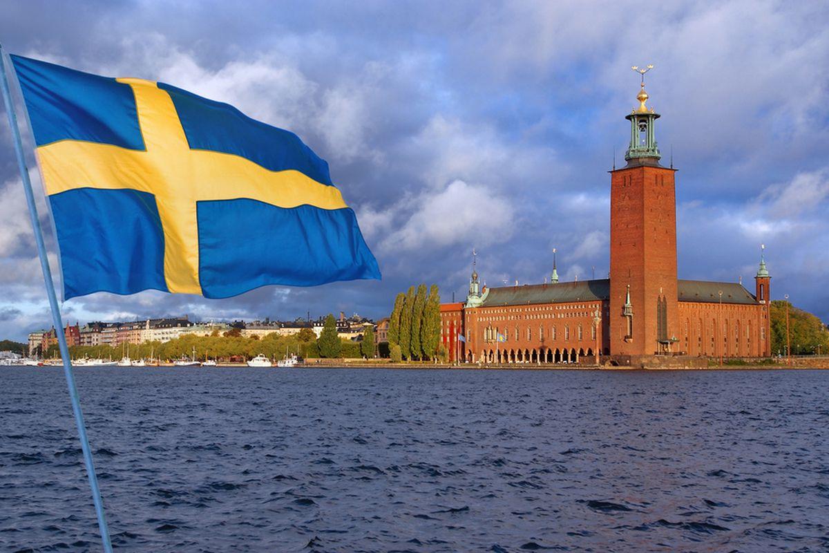 Swedish flag (Shutterstock)