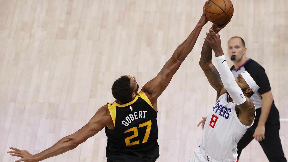 NBA: Playoffs-Los Angeles Clippers at Utah Jazz