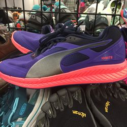 Puma sneakers, women's size 7, $49.95 (from $99.95)