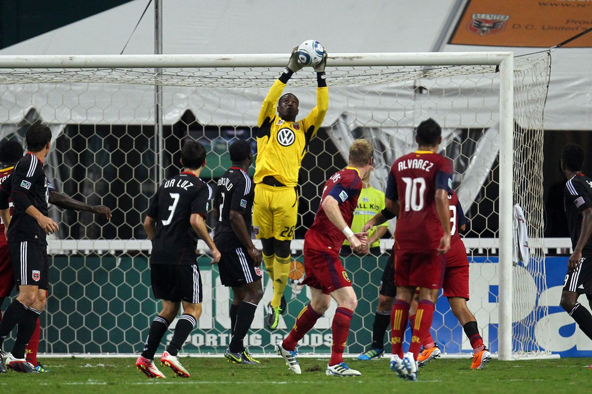 Bill Hamid and D.C. United are in the final playoff push
