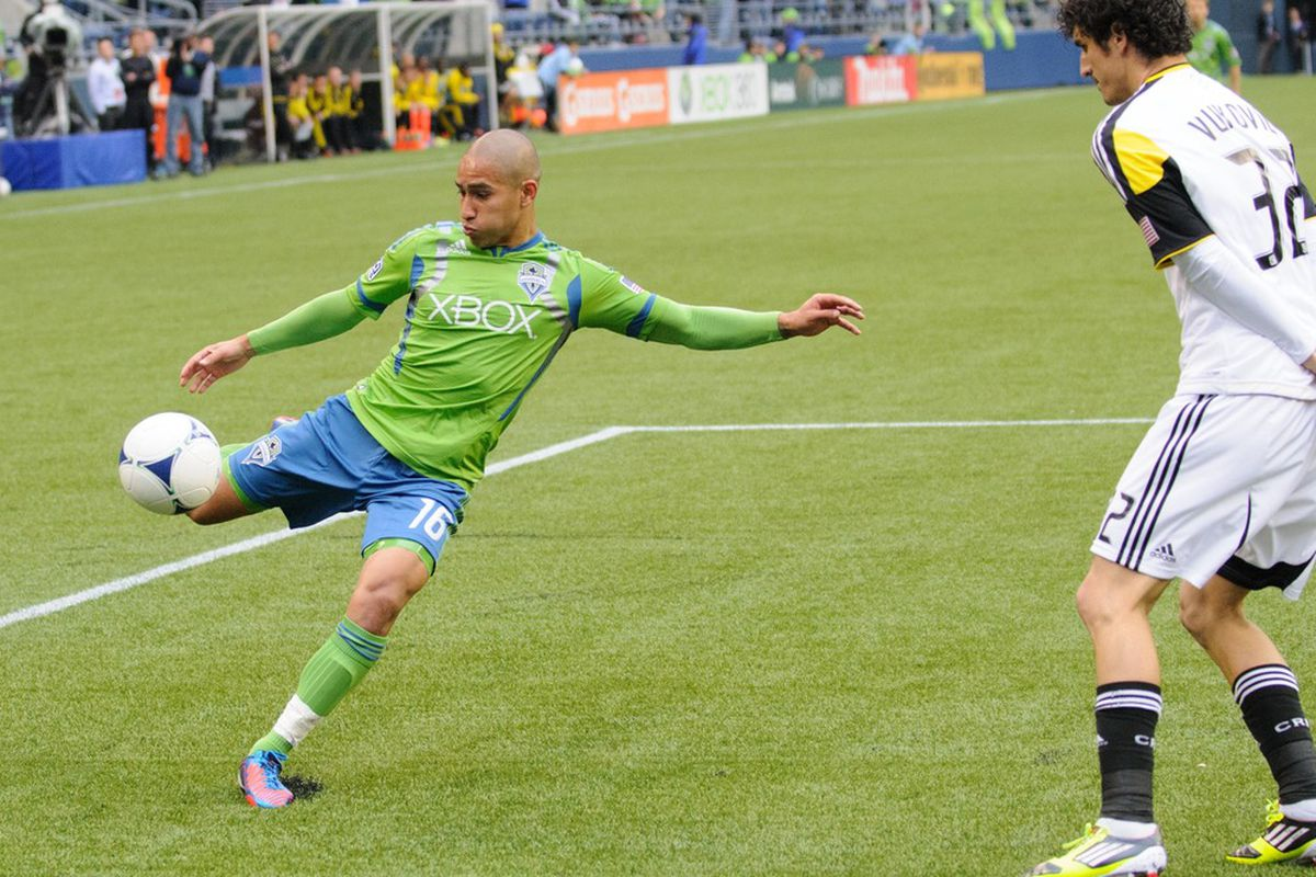 David Estrada was more than just a workhorse for the Seattle Sounders.
