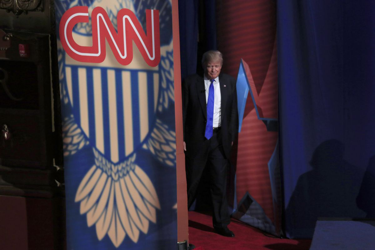 GOP Presidential Candidates Take Part In CNN Town Hall In Milwaukee
