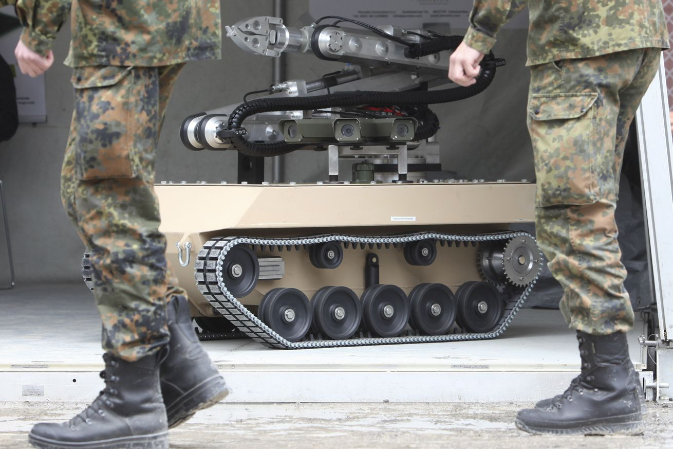 Autonomous capabilities are increasingly being incorporated in military drones and robots.