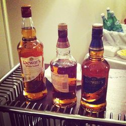 Last but not least, it wouldn't be a Mad Men party without a selection of fine whiskey.