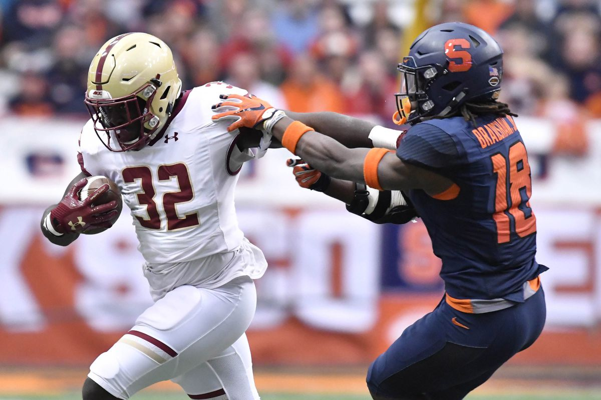 promo code 9c7e6 0e2f1 Boston College Grad Transfer Running Back Jon Hilliman ...