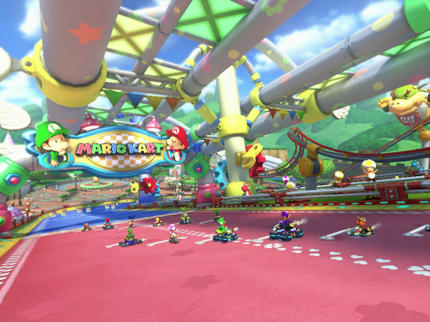 Watch A Blazingly Fast Eight Second Lap In Mario Kart 8 S 200cc