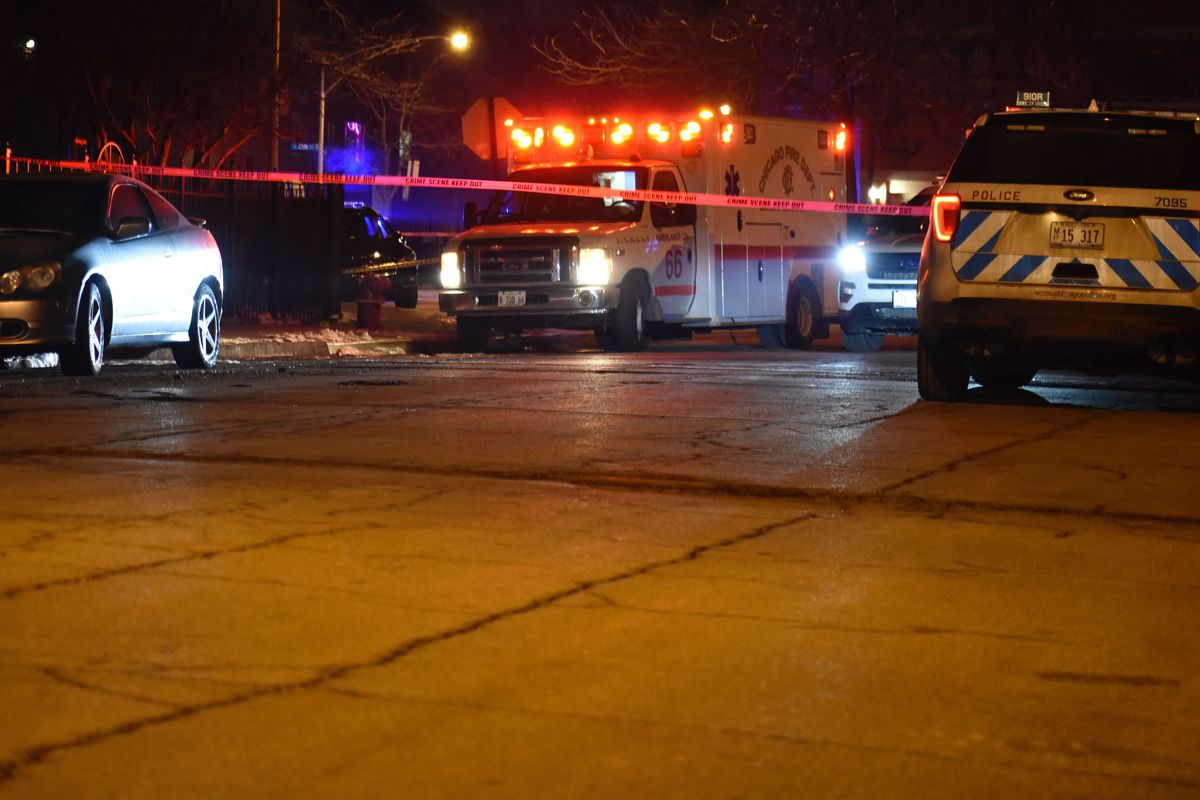 Two men were shot to death during a robbery Feb. 9, 2020, in the 2000 block of South Wells Street in Chinatown.