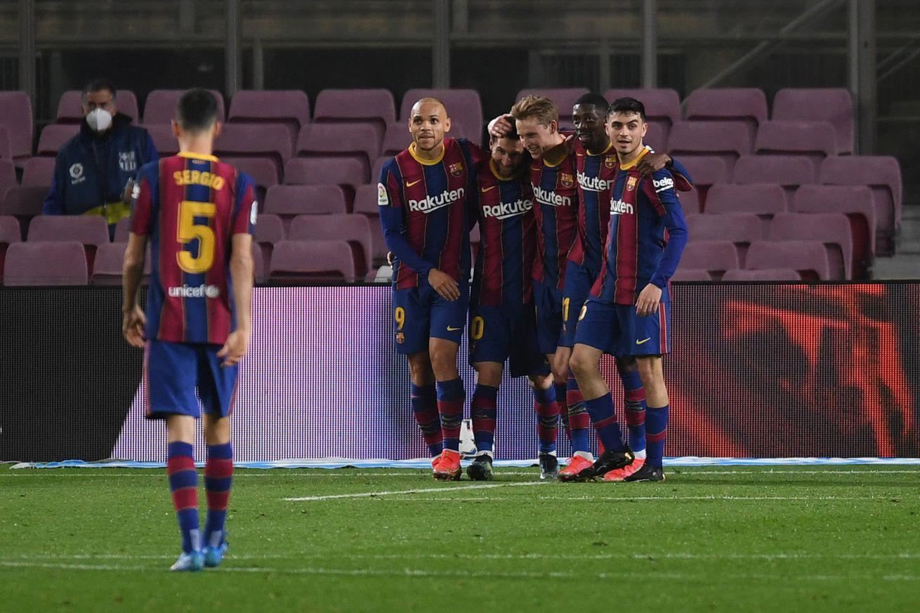 Braithwaite shows his importance to Barcelona... again