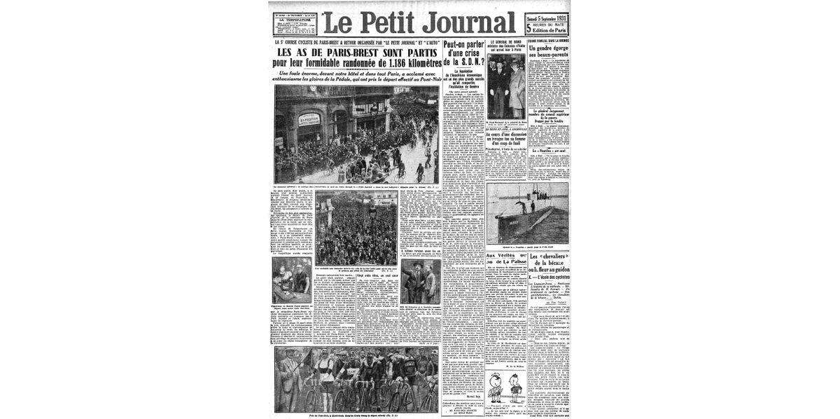 Le Petit Journal, September 5, 1931
