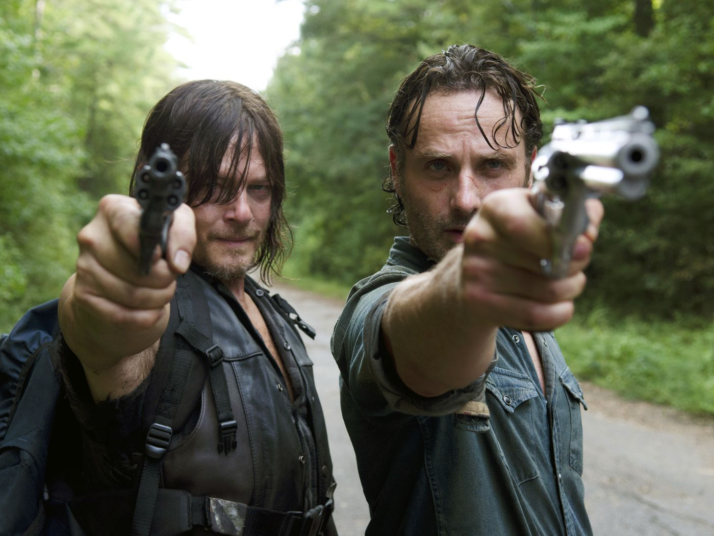 The Walking Dead Season 6 Episode 10 Love Is In The Air For Rick