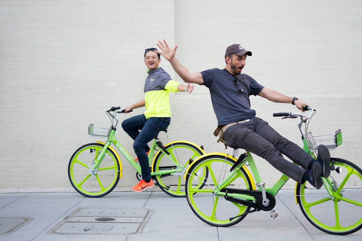 2548f769ebb Full transcript: LimeBike President and co-founder Brad Bao answers bike-sharing  questions on Too Embarrassed to Ask