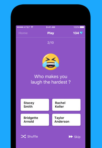 Facebook buys app that lets teens send each other