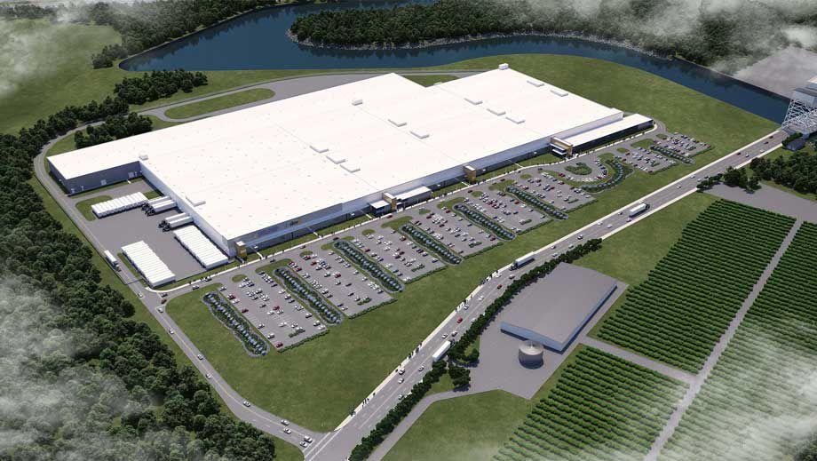 SolarCity's planned gigafactory in Buffalo.