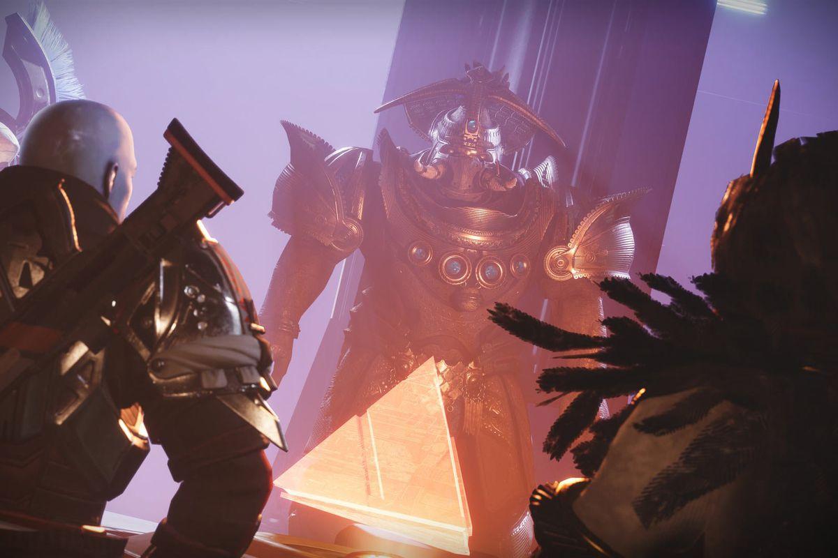 Destiny 2 Season of the Chosen Osiris and Zavala meet Caiatl and the Cabal